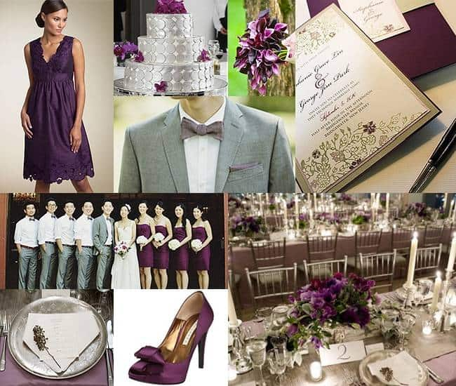 Wedding Color Palette: Silver