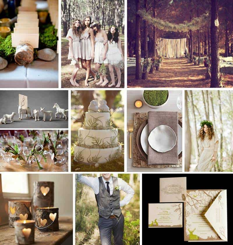 5 Fresh, Trendy Wedding Themes