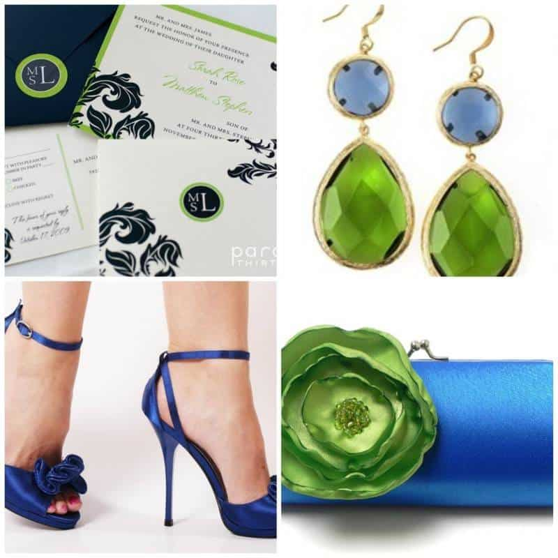 Wedding Color Palette: Royal Blue - The Inspired Bride