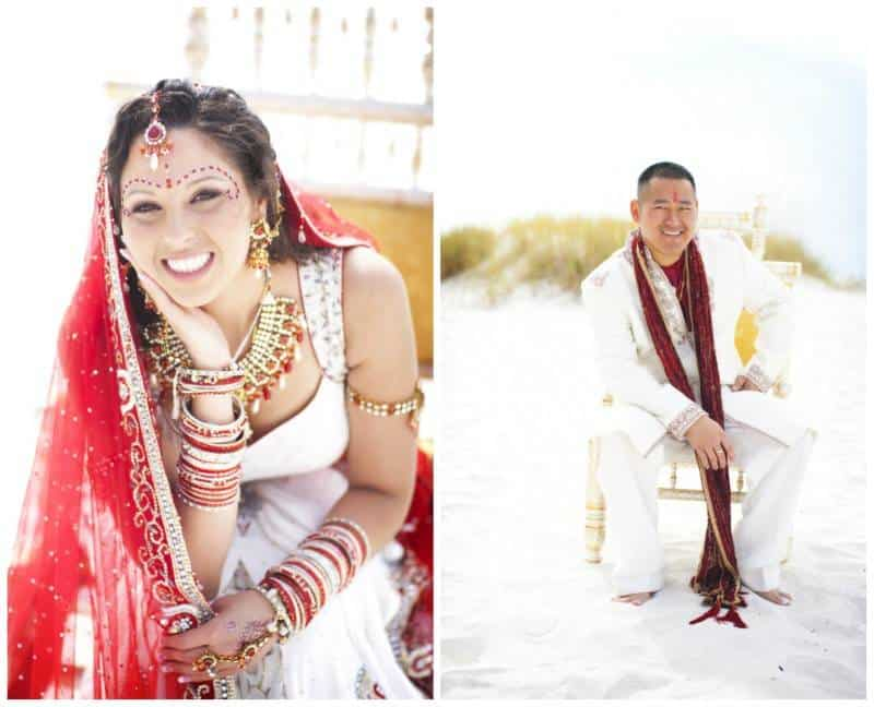 Collage13 Michelle & Jim   A Blend of Hindu & Chinese Nuptial