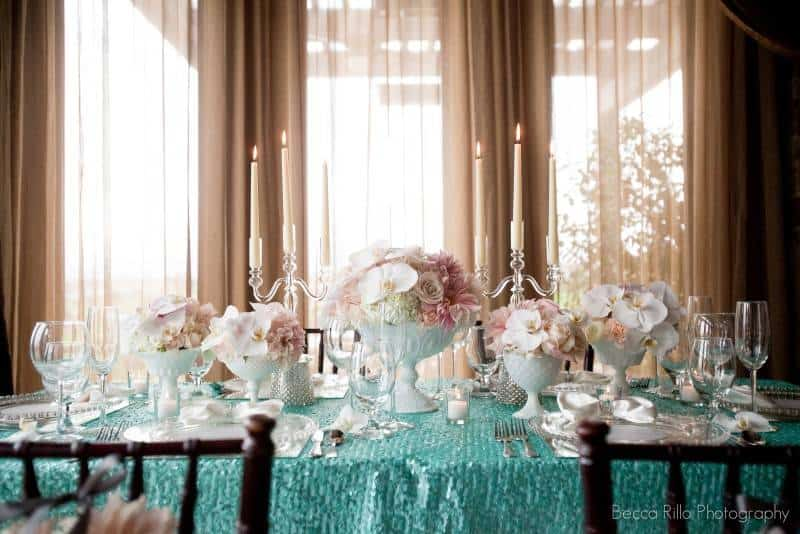 1110 Wedding Planning Inspiration: Blush and Teal