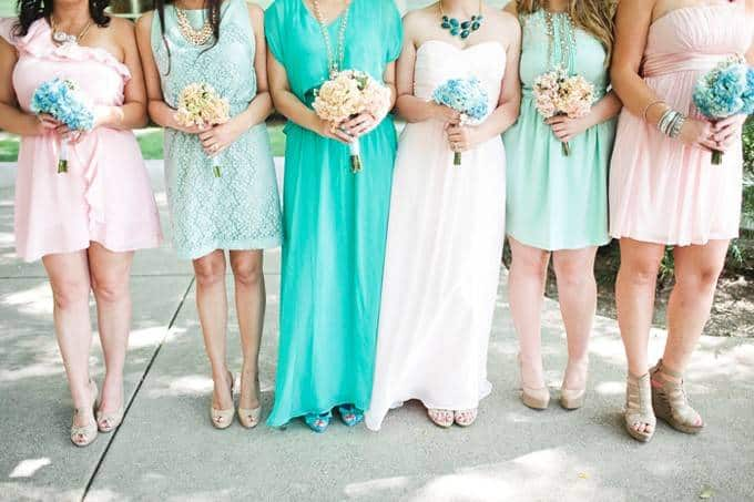 127 Wedding Planning Inspiration: Blush and Teal