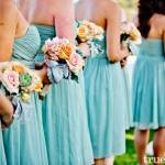 Wedding Planning Inspiration: Blush and Teal