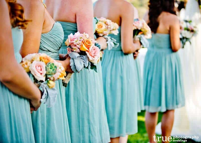 7 Wedding Planning Inspiration: Blush and Teal