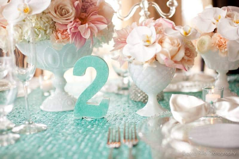 81 Wedding Planning Inspiration: Blush and Teal