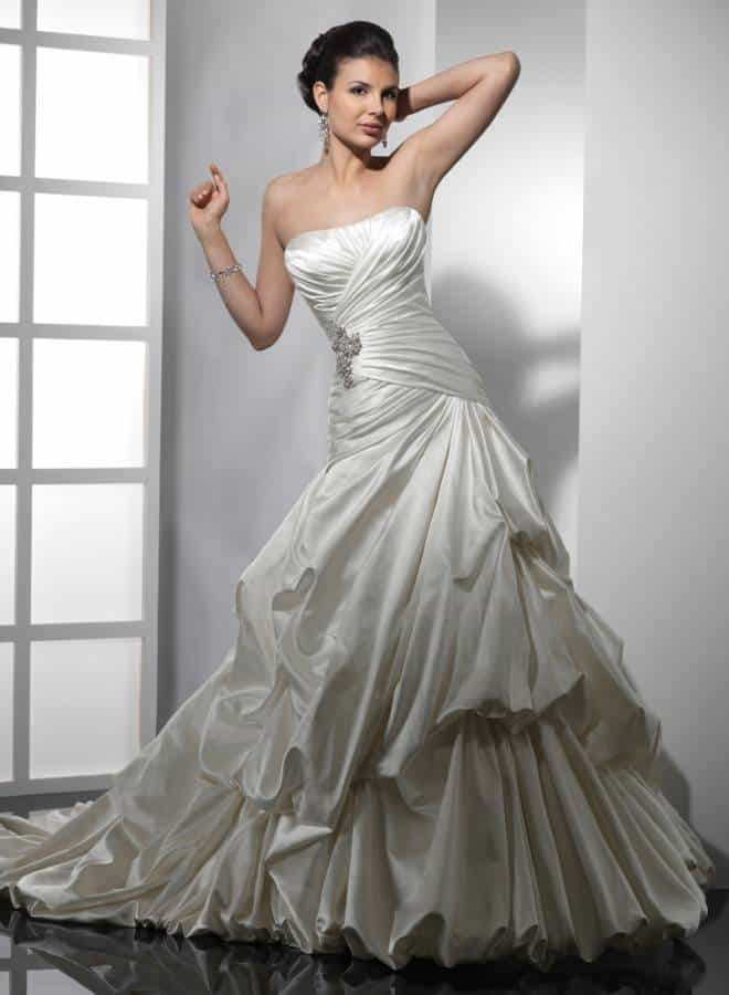 X Stunning Asymmetrical Wedding Gowns