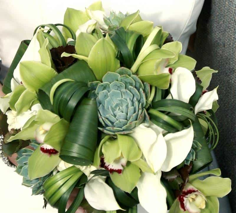 5 Beautiful Succulent Bouquets