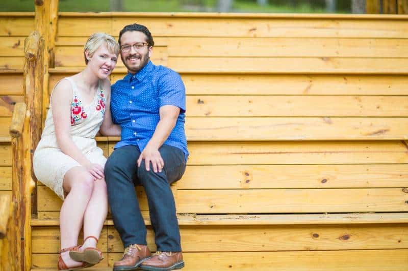 Caitlin Dingle & Zarquis Martinez's engagement session at Tranqu