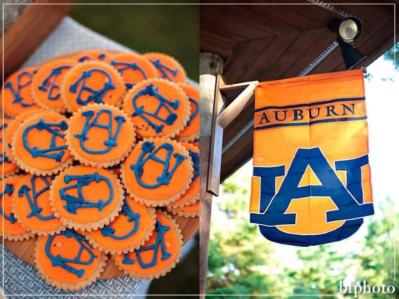 An Alma Mater Wedding Theme