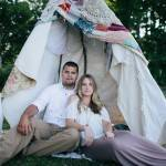 Bohemian Style Engagement Shoot