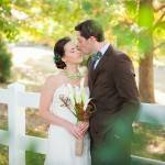 Wedding in Beautiful Garden Colors