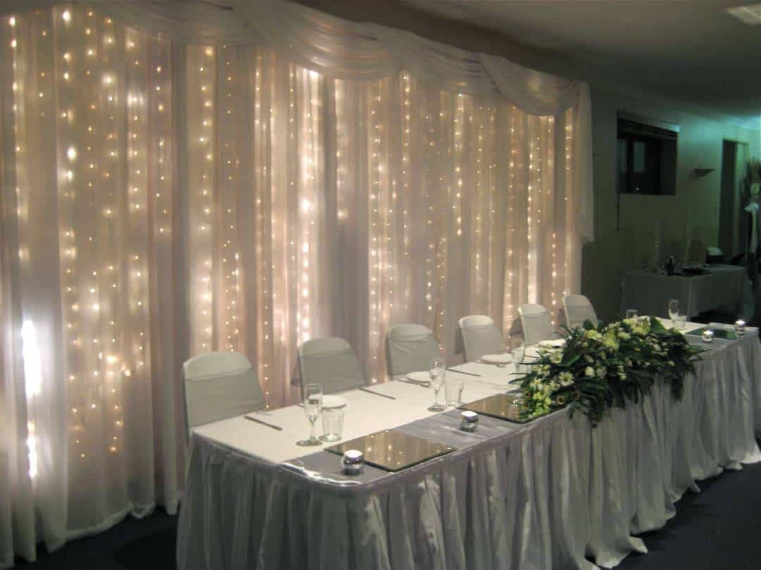 Wedding backdrop inspiration our favorite wedding for Where can i buy wedding decorations