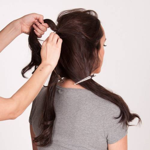 Twisted Tousled Updo_Step 5