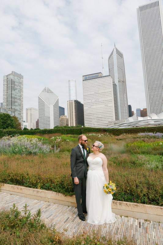 Rockin' and Rollin' in Chicago - Burke and Brazas Wedding