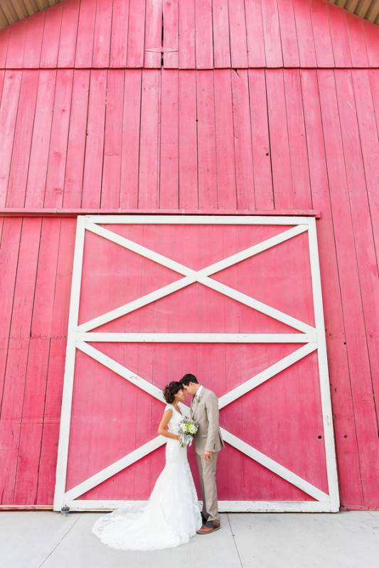A Whimsical Barn Wedding