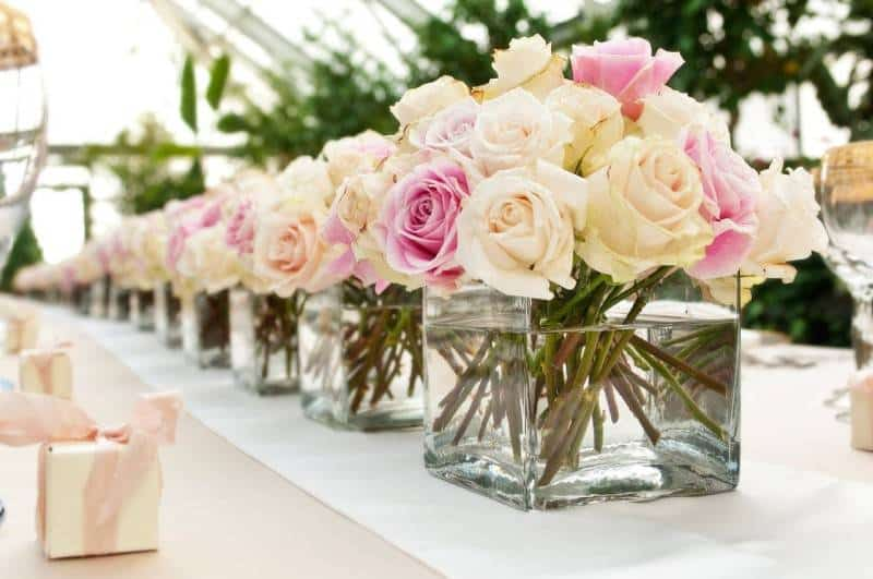 Breathtaking Yet Simple Wedding Centerpieces
