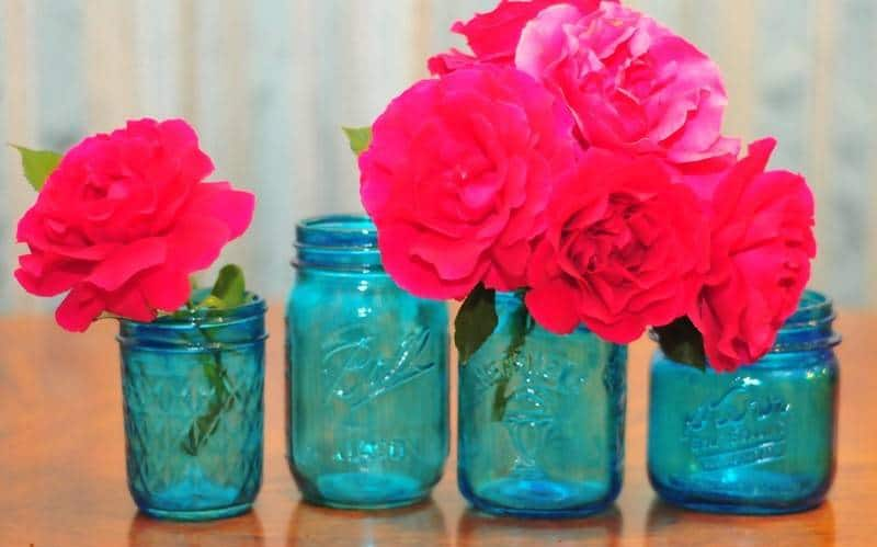 craft supplies that will make your wedding glamorous the inspired bride Modge Podge On Painted Glass  Coloring Mason Jars With Modge Podge