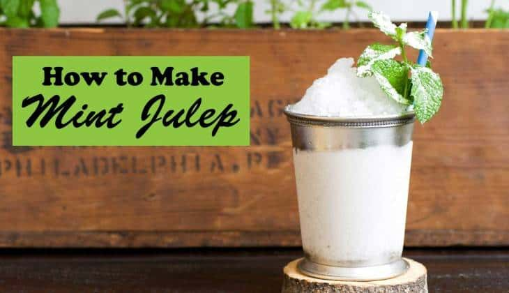Mint Julep – the Perfect Wedding Shower Drink