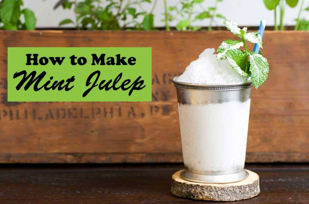 mint julep panna cotta peach julep cognac julep cocktail mint cookie ...