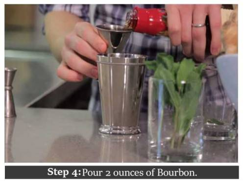 diy mint julep
