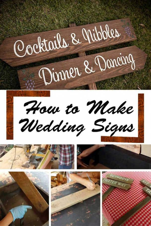 Diy Wedding Signs An Awesome Way To Welcome Your Guests