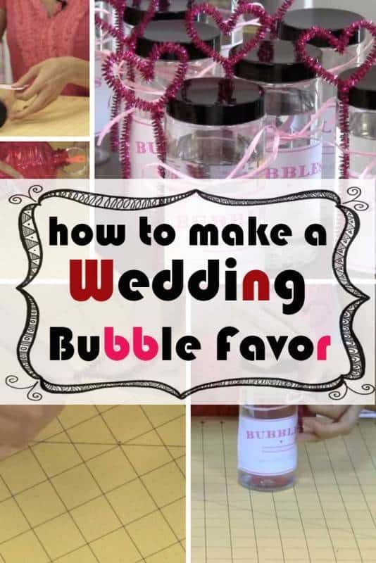 DIY Bubbles: Make your Own Festive and Fun Wedding Bubble Favors