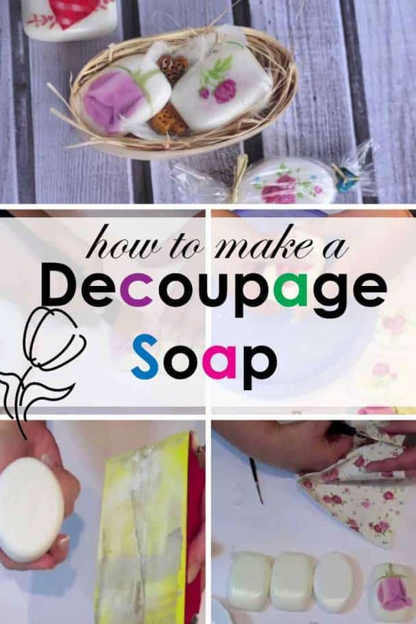 diy decoupage-soap