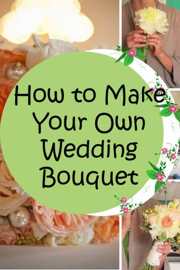 How To Make Your Own Wedding Bouquet Colorful Lovely And Fresh Inspired