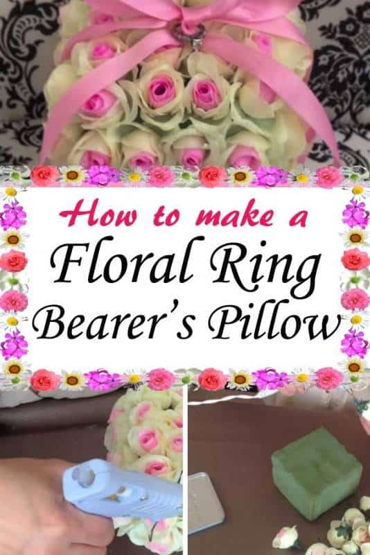 DIY Floral Ring Bearer's Pillow – A Special Accessory to your BIG Day