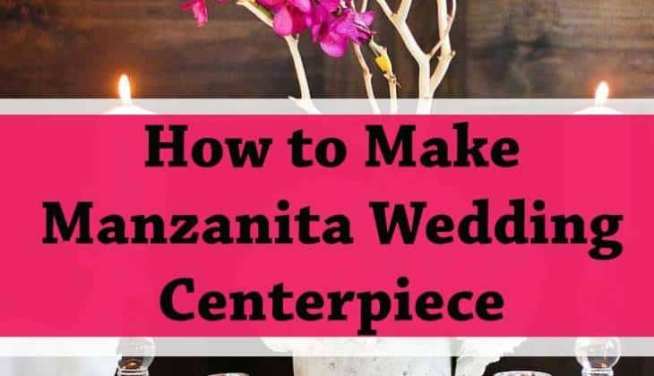 diy manzanita wedding-centerpiece