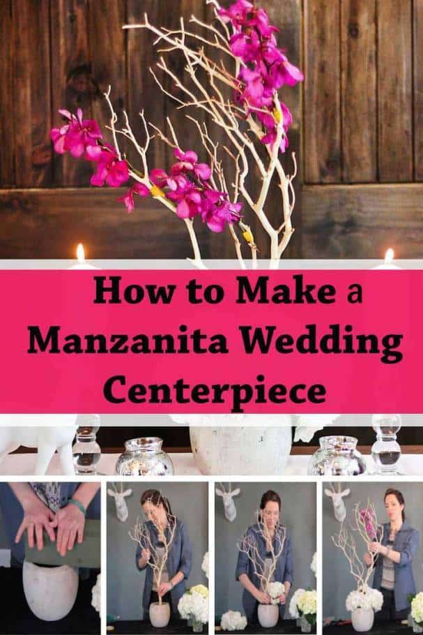manzanita wedding-centerpiece