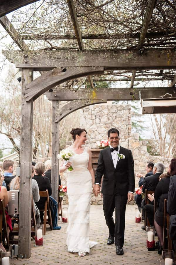 Cybil and Ali's intimate wedding at The General's Daughter in Sonoma