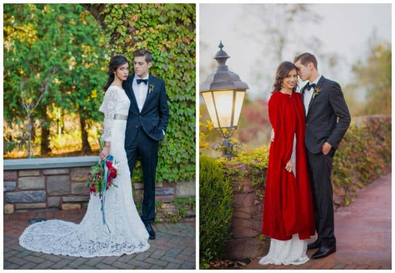 Winter Estate Wedding