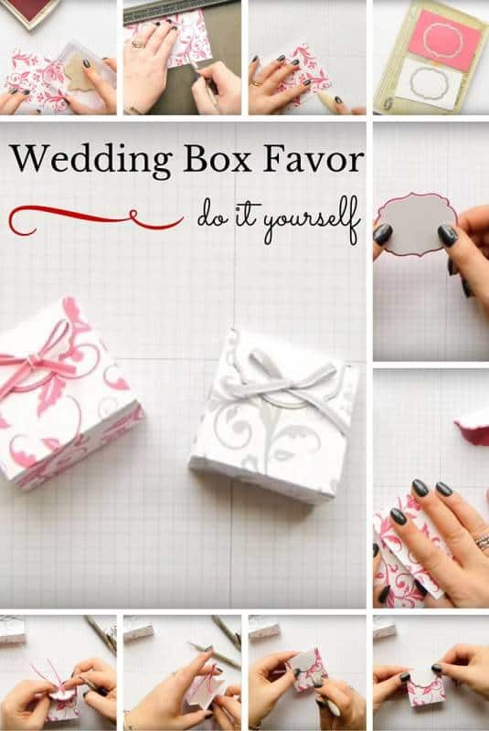 Wedding Box Favor