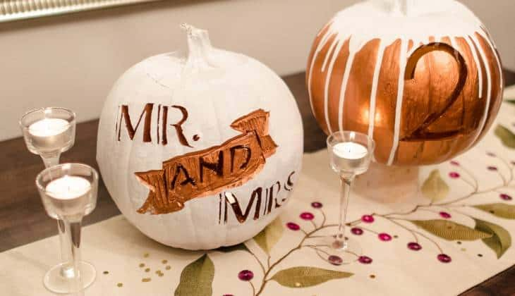 5 Clever and Cute Fall Wedding Ideas 2015