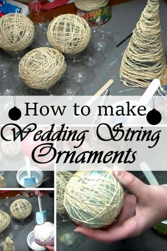 wedding string ornaments