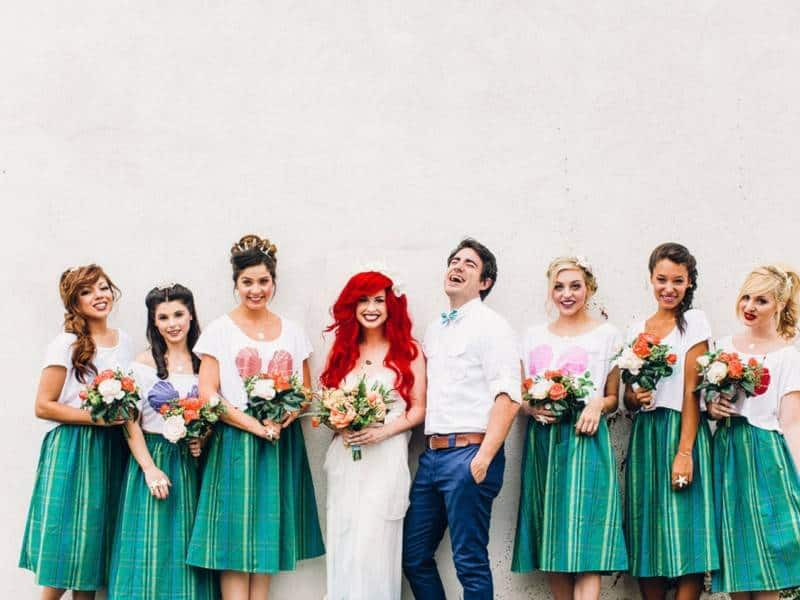 Wedding Theme Inspiration: The Little Mermaid