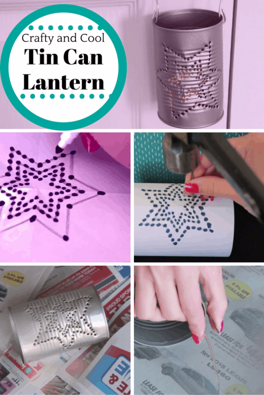 diy Tin Can Lantern