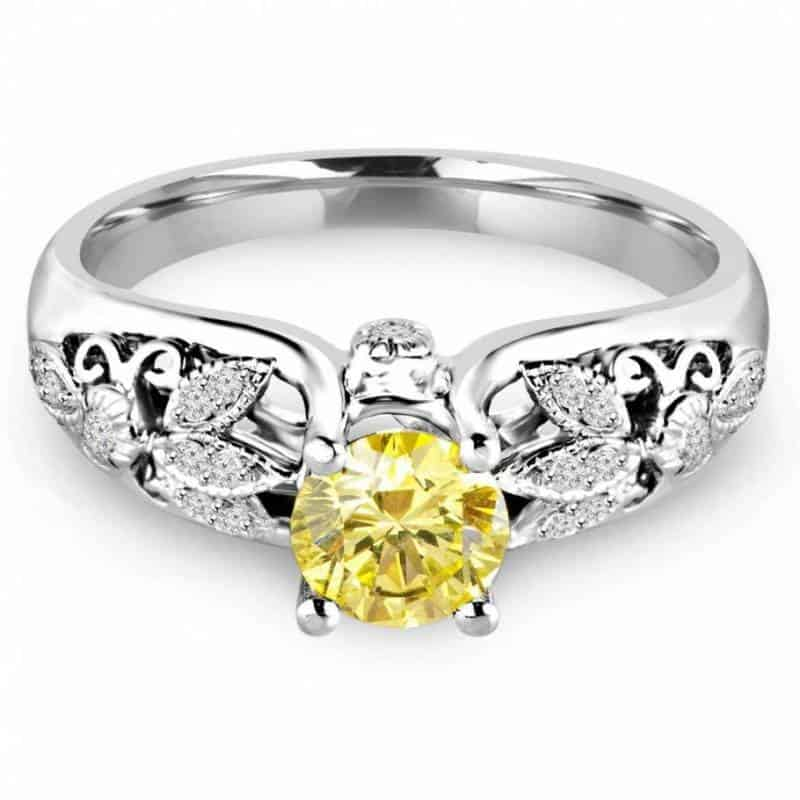 Yellow Diamonds: Engagement Rings that are Breathtaking