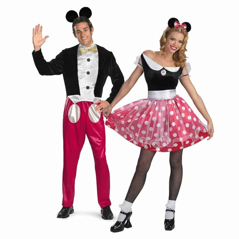 mickey and minnie this super cute disney costume is family friendly and perfect for family oriented parties