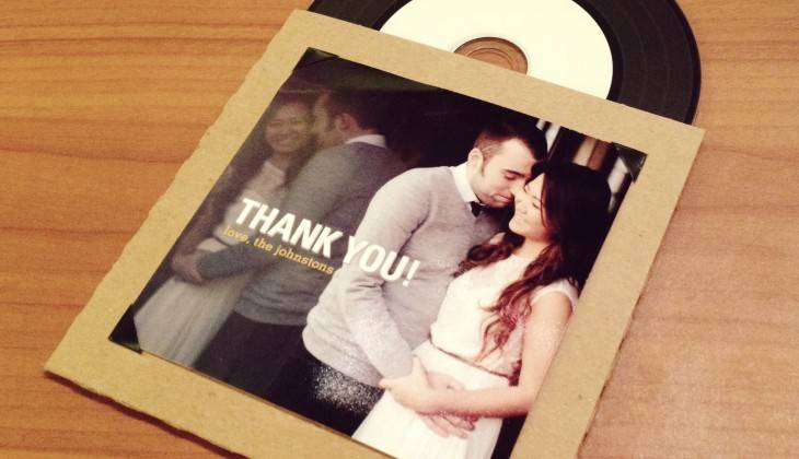 Couples' Playlist Wedding Favor: DIY CD Sleeve