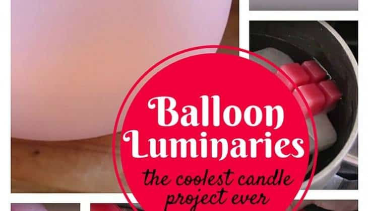 DIY Water Balloon Luminaries: The Coolest Candle Project Ever!