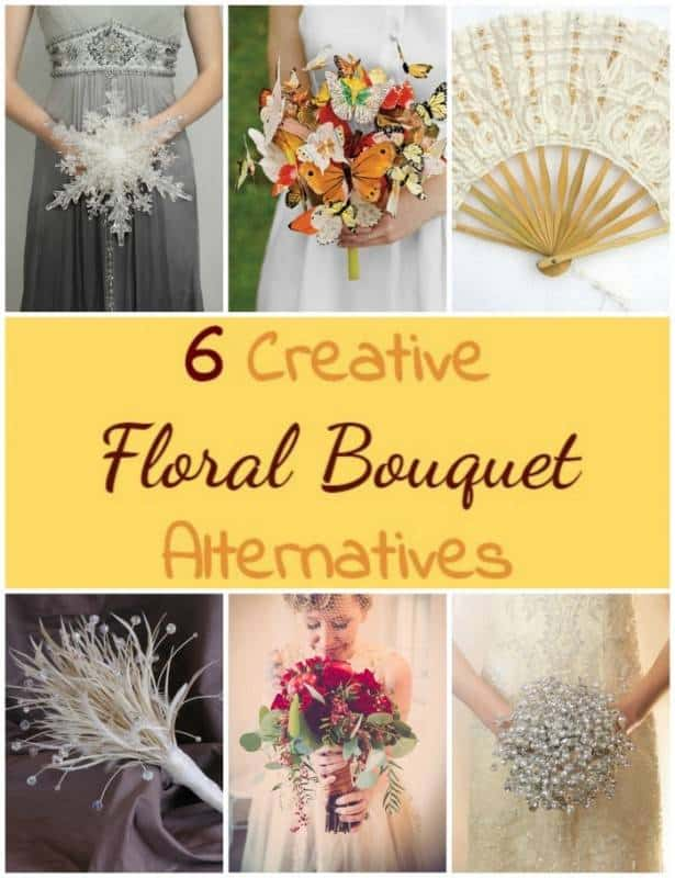 6 Creative Floral Bouquet Alternatives