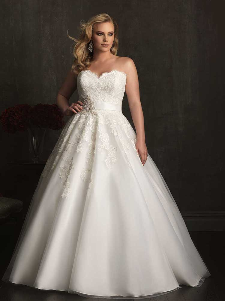 Plus Size Wedding Dresses - Allure Bridals