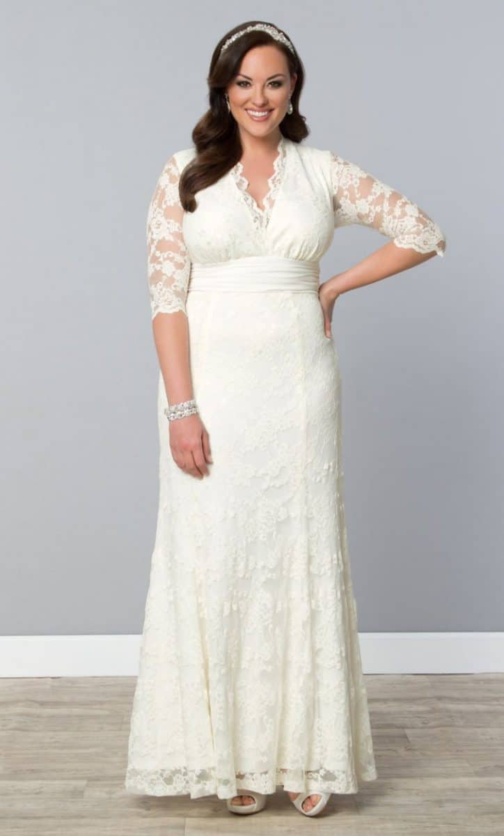 Plus Size Wedding Dresses - Kiyonna