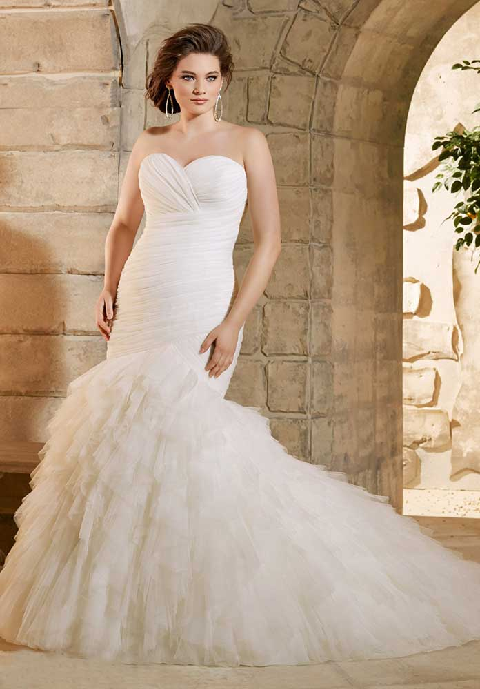 Plus Size Wedding Dresses - Mermaid