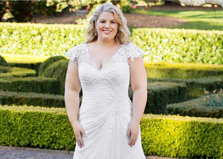 Plus Size Wedding dresses - Roz La Kelin
