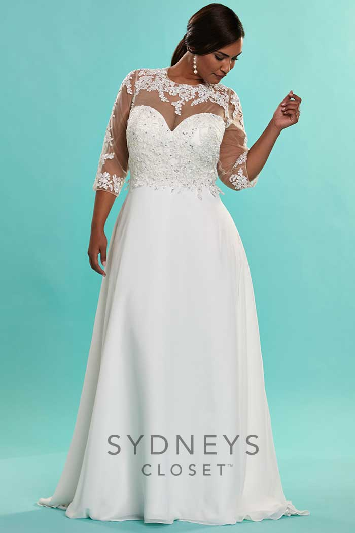 Plus Size Wedding Dresses - Sidney's Closet