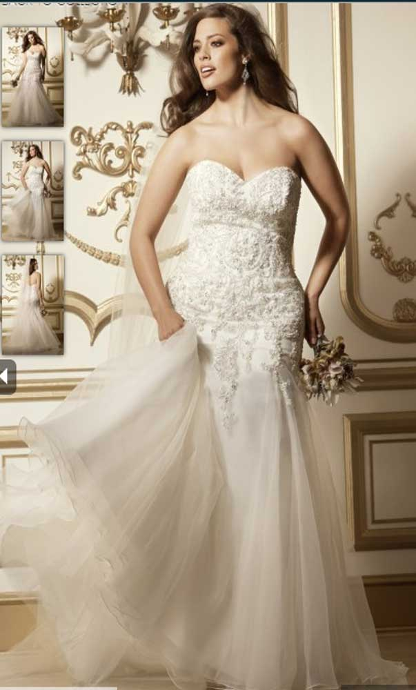 Plus Size Wedding Dresses - Watters Wtoo