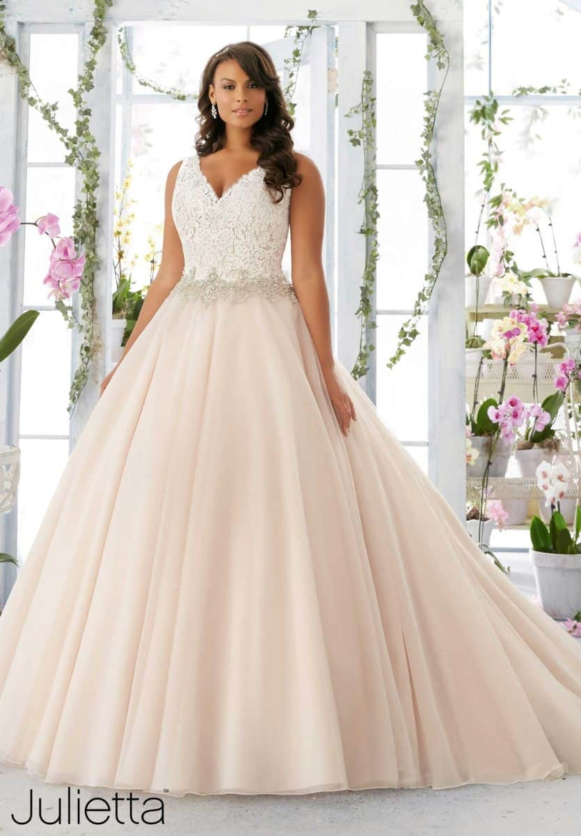 Plus Size Wedding Dresses - Ballgown wedding dress